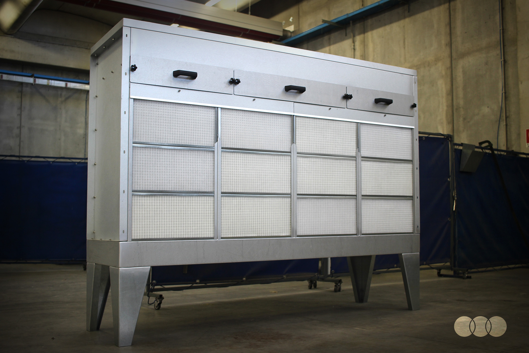 Cabine di verniciatura a secco ultratech group for Piani moderni della cabina di ceppo