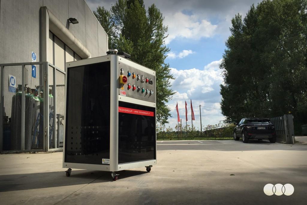TechGroup - Macchine speciali per trattamento coating