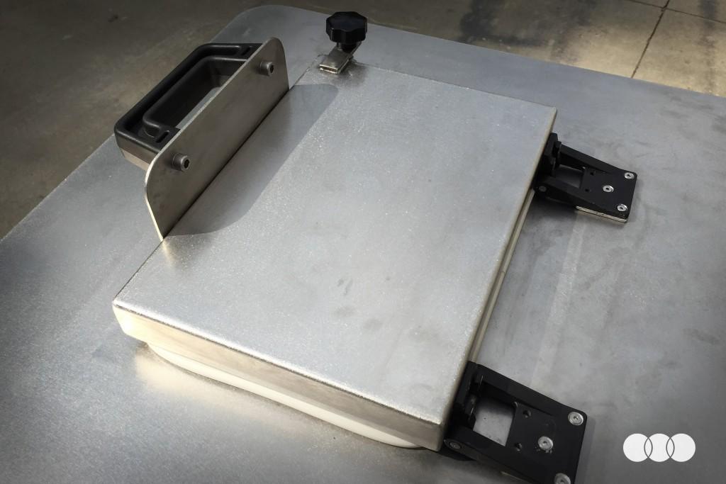 Macchine per trattamento coating - Coperchio ermetico